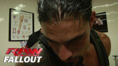 Roman Reigns Gets Stapled - Raw Fallout - Aug. 4, 2014. It's ridiculous how beautiful this man is even when he's getting staples put in his head!