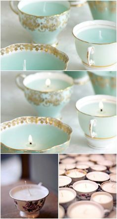 Teacup Candles - I've alway had a thing for these so maybe I can finally try it out sometime soon