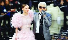 Paris Fashion sparkles in Chanel's hall of…