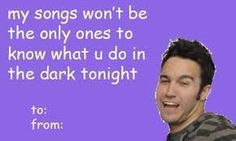 Image result for panic at the disco valentines day cards