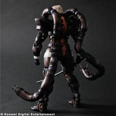 Square Play Arts Kai announced the arrival of Solidus Snake from Metal Gear Solid 2 as the newest character from the series to get rendered for the Square Play Arts Kai line-up. Check out this fully modeled figure below.     Which classic MGS character do you want to see get the Square Play Arts Kai treatment