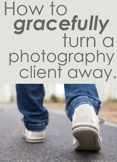I wrote this for those of you that are currently dealing with or have dealt with bad, cheap or nightmare photography clients. Spotting cheap clients right away and sensing a challenging photography...