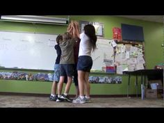 Water cycle using  kinesthetic learning. Students create dance for h2o cycle