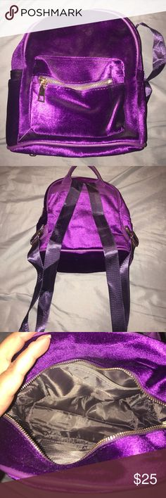 Purple mini backpack SALE!!! Brand new without tags! Mini backpack! Bags Backpacks