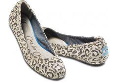 Cheetah Ballet Flats - Toms.
