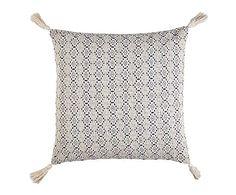 Cojín de algodón, azul Alexandra - 45x45 cm