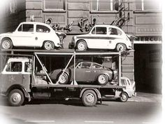 Abarth transport (photo Abarth's day Facebook)