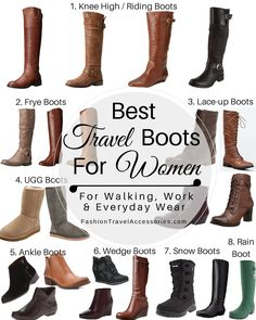 Best Travel Boots for Women to Wear this Fall Winter   Spring - Perfect for  Walking Sightseeing Touring Work and Everyday Wear. 751bdd3b77