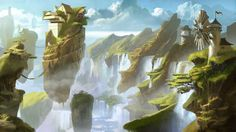 18 Ideas Fantasy Landscape Illustration Environment For 2019 Environment Concept Art, Environment Design, Fantasy Places, Fantasy World, Fantasy Landscape, Landscape Art, Bg Design, Fantasy Setting, Fantasy Inspiration