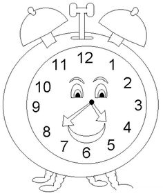 printable paper clock template crafts ideas for kids math ideas