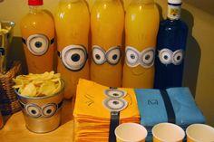 Minions Kindergeburtstag Deko - die besten Partyideen