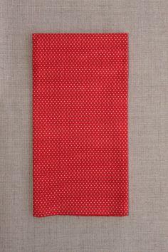 NA052 Poá vermelho branco - As cores dos produtos podem sofrer pequenas variações em função do monitor