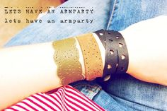 DIY Leather : DIY Leather Lace Bracelet