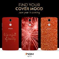 Con #Ngm puoi personalizzare la tua cover anche in base al tuo look. Glitter, elegant, cool ci prepariamo così al Capodanno qui da #Ngm. E tu che stile sei? Personalizza il tuo smartphone sul nostro sito: mycover.ngm.eu