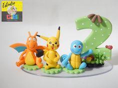 Topo de Bolo Pokémon Go Biscuit   Estúdio Gibi - Artes em Biscuit   Elo7