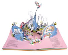 Horton Hears a Who pop-up book by Dr Suess