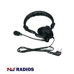 Kenwood KHS-7 Single Muff Headset for TK & NX Series