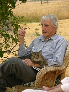 on-fiction author, environmental activist, and novelist Peter Matthiessen is perhaps best known for a book that is sort of about cats – but not of the household variety. His book The Snow Leopard, about a journey in the company of zoologist George Schaller into the heart of the Himalayas, seeking the snow leopard, a creature so rarely spotted as to be nearly mythical.