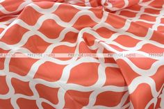 Wisker Bisket Table Linen - Orange