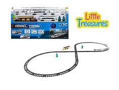 City bullet train for passengers shuttle race down the tracks thru the highways and airport down the speedway  a fun toy for children and adults to play *** Find out more about the great product at the image link.Note:It is affiliate link to Amazon.