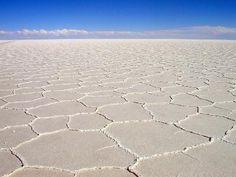 Bolívie, poušť