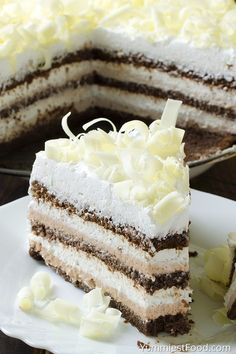 Easy Chocolate Cake - this cake is really the best chocolate cake you'll ever make. Perfect cake for chocolate lovers! So creamy, soft and tasty - Easy Chocolate Cake! Homemade German Chocolate Cake, Chocolate Cake Recipe Easy, Best Chocolate Cake, Decadent Chocolate, Delicious Chocolate, Chocolate Lovers, Frosting Recipes, Cake Recipes, Dessert Recipes