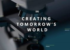 SRG | CSS Website  I like this kerning and typeface