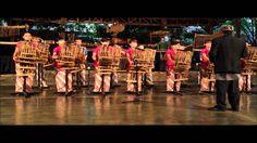 Saung Angklung Udjo - Bandung, Java, Indonesia Part 1 - produced by Henn...