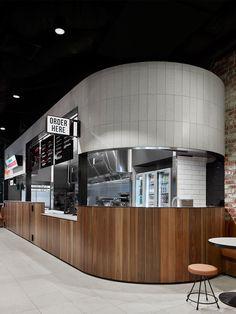 Interior Design For Bathroom Cafe Restaurant, Restaurant Design, Cafe Design, Store Design, Foodtrucks Ideas, Cafe Interior, Interior Design, Counter Design, Food Court