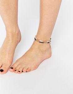 Image 3 - ASOS - Lot de 2 jolis bracelets pour cheville en perles