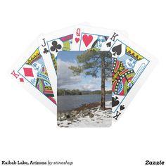 Kaibab Lake, Arizona Bicycle Playing Cards