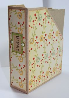 A2 card holder *Links to a blog but will be really hard to find the tutorial*