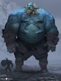Frost Giant concept for Bierzerkers!  www.Bierzerkers.com  www.twitter.com/Shield_Break