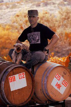 Maynard James Keenan at the vineyard