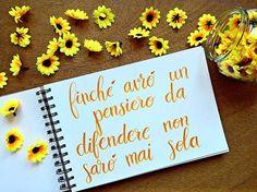 """🖋 La recensione di """"Emma Braccani: Perché io non posso"""" è online sul mio blog 💛 trovate il link in biografia☀se vi va, aggiungetevi anche ai lettori fissi 🔔 la frase in foto è ovviamente una delle tante pronunciate da Emma nel romanzo! 🌻 . . .  #art #journal #bujo #booklover #bibliophile #bookstagram #dualbrushpen #love #inspire #photography #lettering #drawing #artjournal #bulletjournal #handlettering #blogger #brushlettering #quotes  #tutorial #youtube #motivationalquotes"""