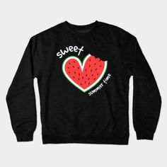About Sweet Summer Time, Watermelon Heart Crewneck Sweatshirt This sweatshirt is Made To Order, we print the sweatshirt one by one so we can control the quality. Earl Sweatshirt, Crew Neck Sweatshirt, Graphic Sweatshirt, T Shirt, Outfits For Teens, Cute Outfits, Disney Designs, Outfit Posts, Outfit Ideas