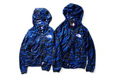 Image of THE NORTH FACE PURPLE LABEL 2013 Spring/Summer Black & Blue Zebra Collection