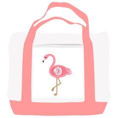 $32 Flamingo Tote Bag