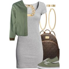 7k followers! by livelifefreelyy on Polyvore featuring H&M, Golden Goose, Vans, MICHAEL Michael Kors, Roberta Chiarella, Michael Kors and ASOS