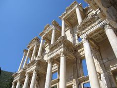 The 7 Wonders of the Ancient World - Ephesus, one of the largest and best-preserved ancient cities in the world.