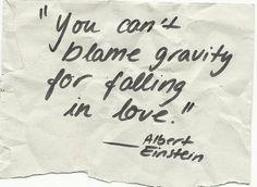Einstein wisdom.