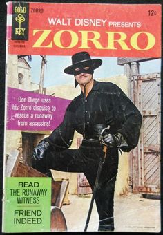Zorro - I used to watch this at midnight on Disney Vault. I remember vividly wrapping Christmas presents for the family while my parents were at Christmas party. I always had ear infections or was sic