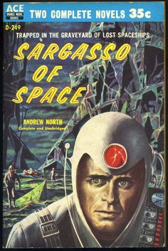 Sargasso of Space by Andre Norton, writing as Andrew North. book 1 of the Solar Queen series, published in 1955.