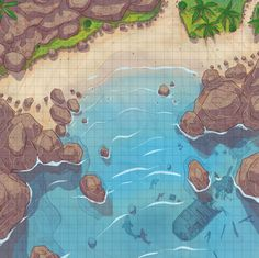 Spellarena is creating unique hand-drawn Maps and Assets for DnD & other TTRPGs. Fantasy City Map, Fantasy World Map, Dungeons And Dragons Homebrew, D&d Dungeons And Dragons, Dnd World Map, Pathfinder Maps, Rpg Map, Map Layout, Best Rpg