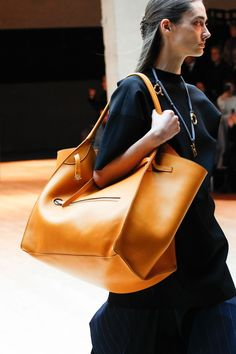 Zoom in on the bags that have caught our eye on the catwalk over the past month - and make your lust list before they even hit the stores