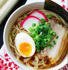 Japanese Ramen - Looks really tasty! Not sure if it's worth buying the special ingredients and the time, though.