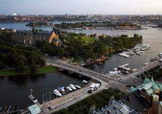 Djurgårdsbron, Bridge over to Djurgården, Stockholm
