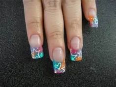 designed fingernails