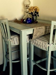 Overstock this laurel 3 piece bistro seat brings traditional yet items similar to up cycled bistro table chairs on etsy watchthetrailerfo