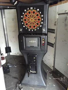 Arachnid Galaxy 2 Coin Operated Dart Machine | eBay